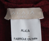 Alaia Red Wool Viscose Dress 4