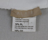 Alaia Ivory Viscose Polyester Spandex Dress 4