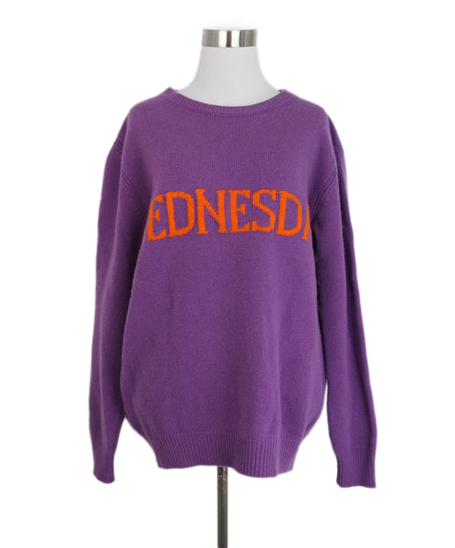 Alberta Ferretti Purple Wednesday Sweater 1