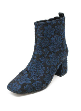 Alex+Alex Black Navy Lurex Booties 1