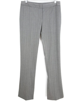 Alexander McQueen Grey Wool Pants 1