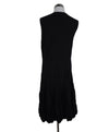 Alexander McQueen Black Wool Pleated Dress 3