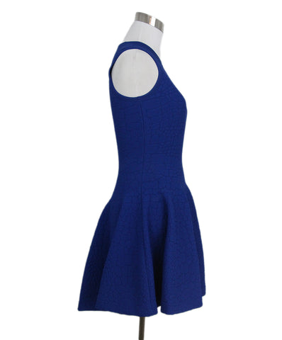 Alexander McQueen blue dress 1