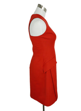 Alexander McQueen Red Cotton Viscose Dress 2
