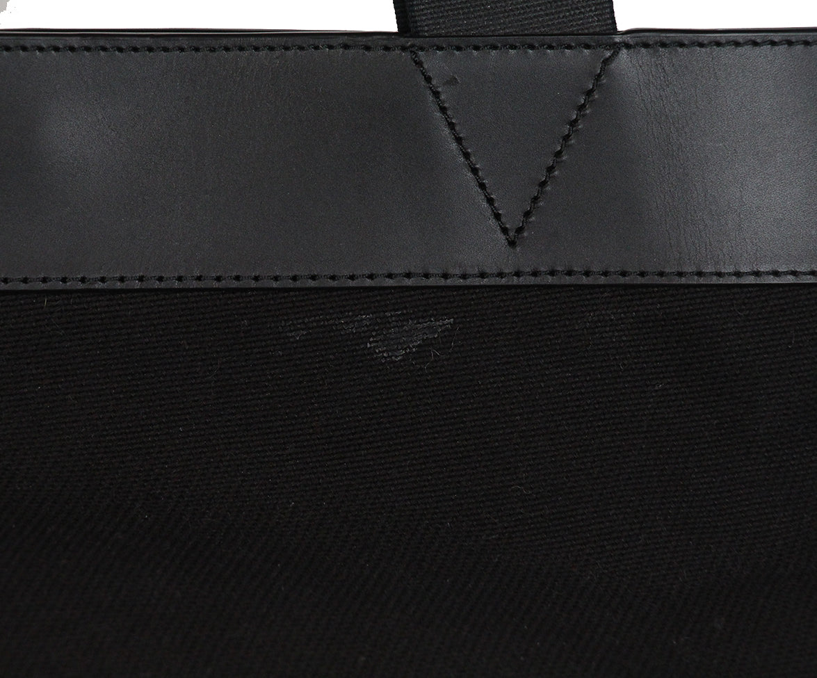 Alexander Wang Black Canvas Leather Tote 8