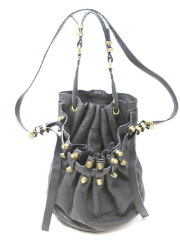 Alexander Wang Black Leather Bucket Bag 1