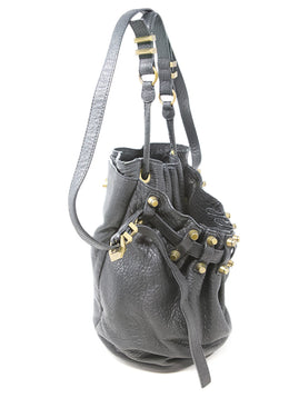 Alexander Wang Black Leather Bucket Bag 2