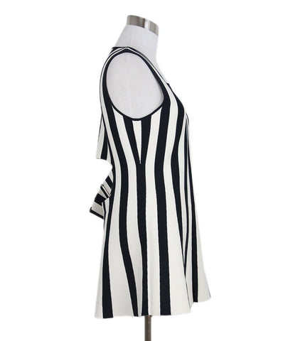 Alexander Wang Black White Stripes Dress 1
