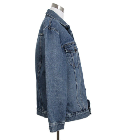 Alexander Wang Blue Denim Jacket 1