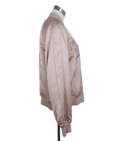 Alexander Wang Peach Viscose Embroidered Jacket 1