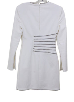 Alexander Wang White Cotton Zipper Design Dress 1