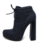 Alexander Wang Grey Flannel Booties 2