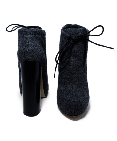 Alexander Wang Grey Flannel Booties 3