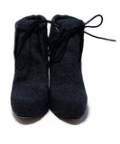Alexander Wang Grey Flannel Booties 4