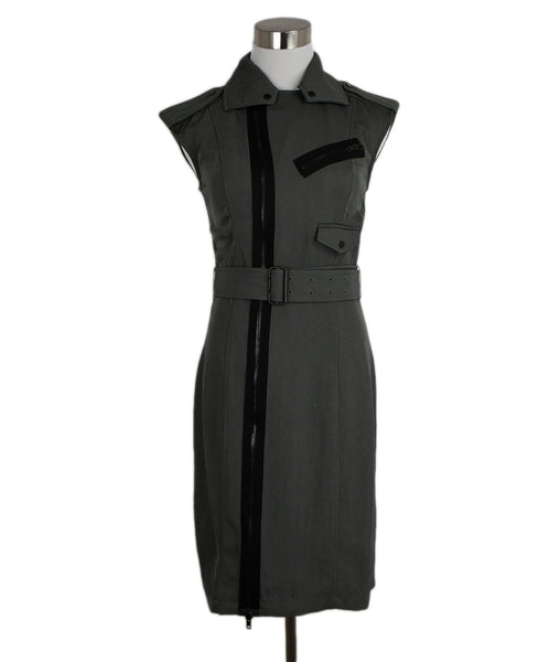 Alexander Wang Olive Triacetate Dress 1