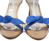 Alexander Birman Blue Suede Sandals 6