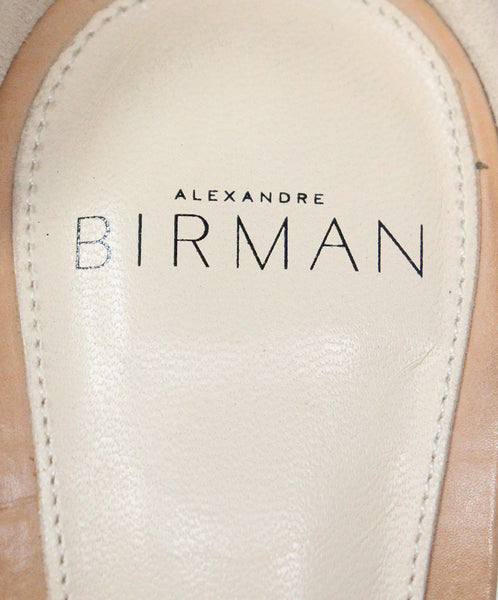 Alexander Birman Blue Suede Sandals 5