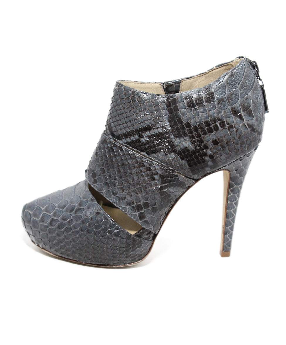 Alexandre Birman Grey Python Shoes 2