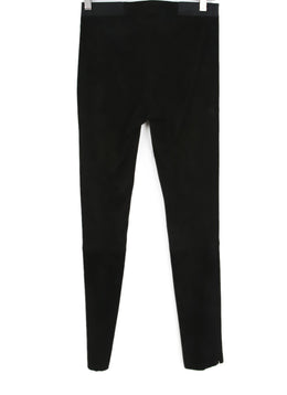 Alice + Olivia Black Microfiber Pants 1
