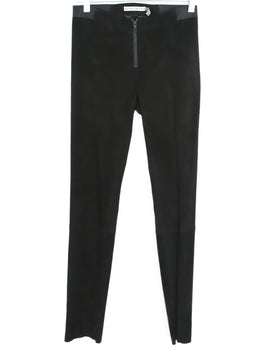 Alice + Olivia Black Microfiber Pants 2