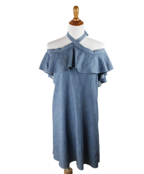 Alice + Olivia  Blue Denim Dress Sz 8