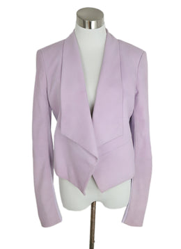 Alice + Olivia Lilac Suede Cotton Jacket 1