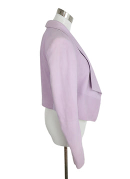 Alice + Olivia Lilac Suede Cotton Jacket 2