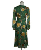 Alice + Olivia Green Floral Dress 3