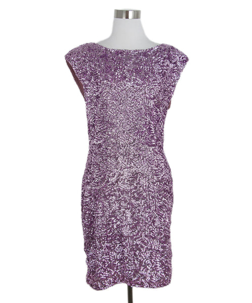 Alice + Olivia Pink Sequins Evening Dress 1