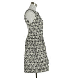 Alice + Olivia Black White Wool Dress 2