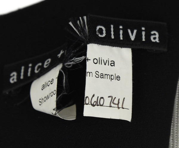 Alice + Olivia Black White Wool Dress 4