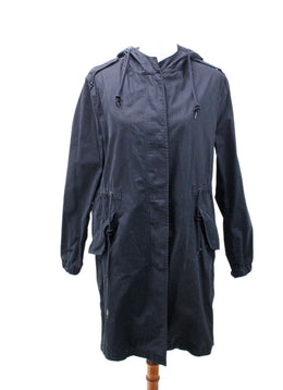 AllSaints Black Cotton Outerwear