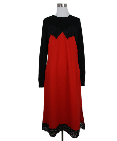 Altuzarra Black Red lace dress 1