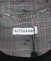 Altuzarra Plaid Wool Cotton Purple Floral Jacket 4