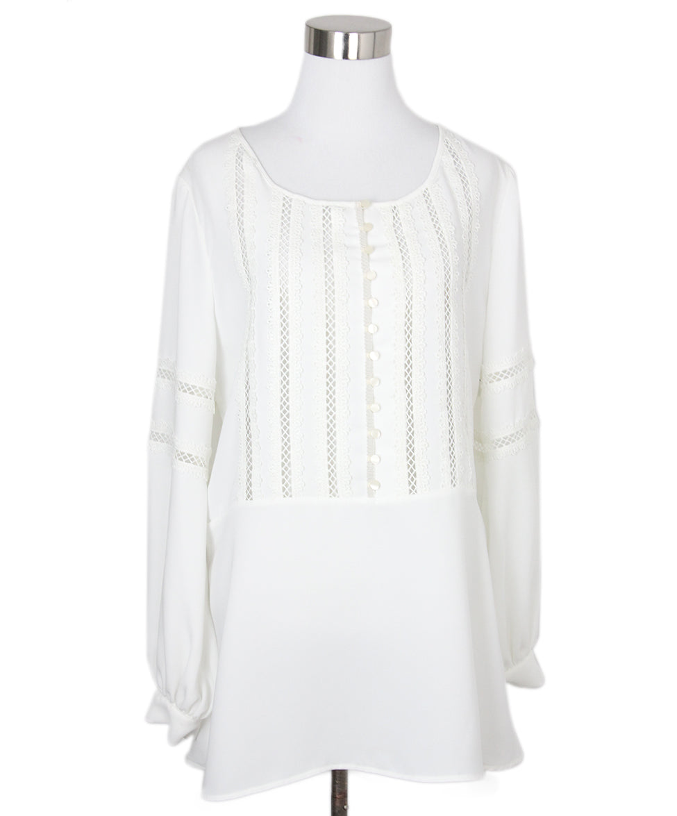 Anne Fontaine White Blouse 1
