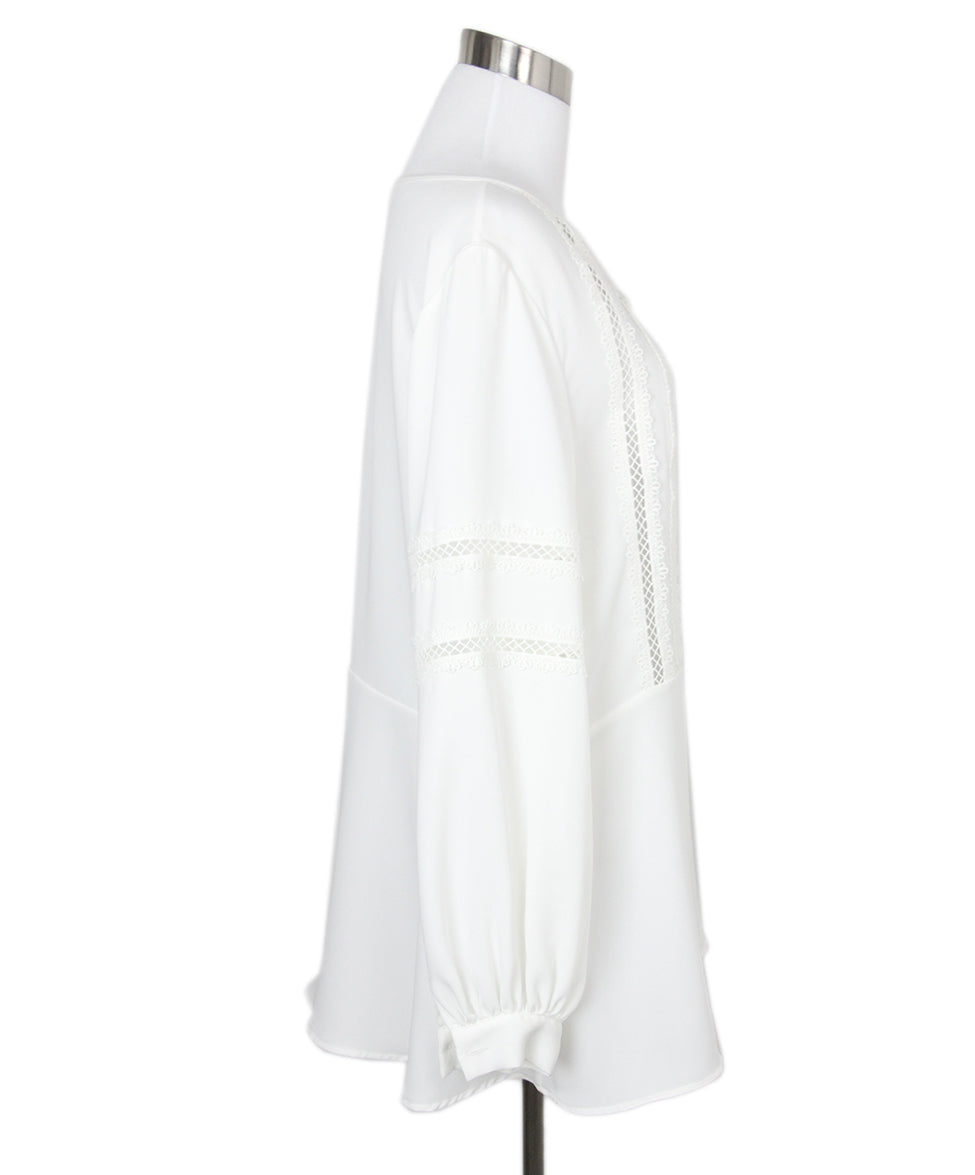 Anne Fontaine White Blouse 2