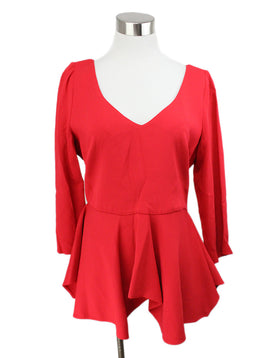 Antonio Berardi Red Viscose Top 1