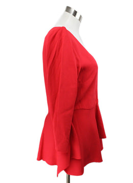 Antonio Berardi Red Viscose Top 2