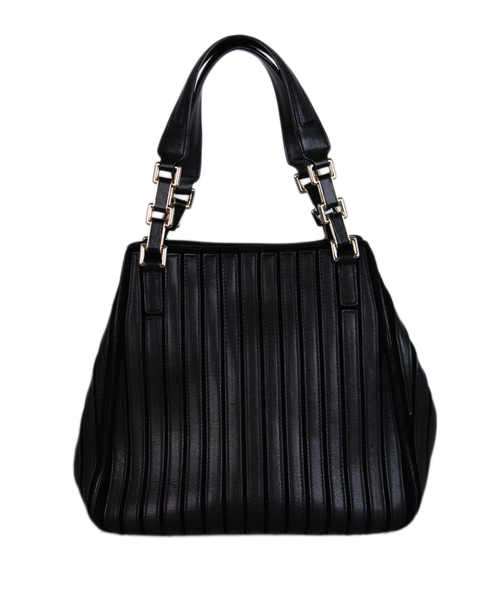 Anya Hindmarch Black Leather Tote 3