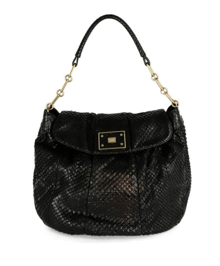 Jimmy Choo Brown Crocodile Handbag