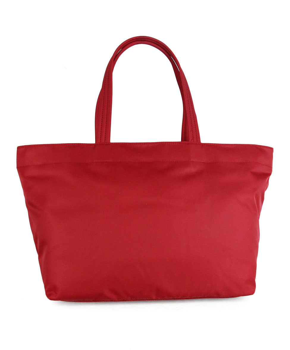 Anya Hindmarch Red Nylon Tote 3