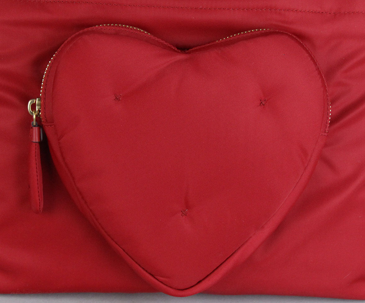 Anya Hindmarch Red Nylon Tote 9