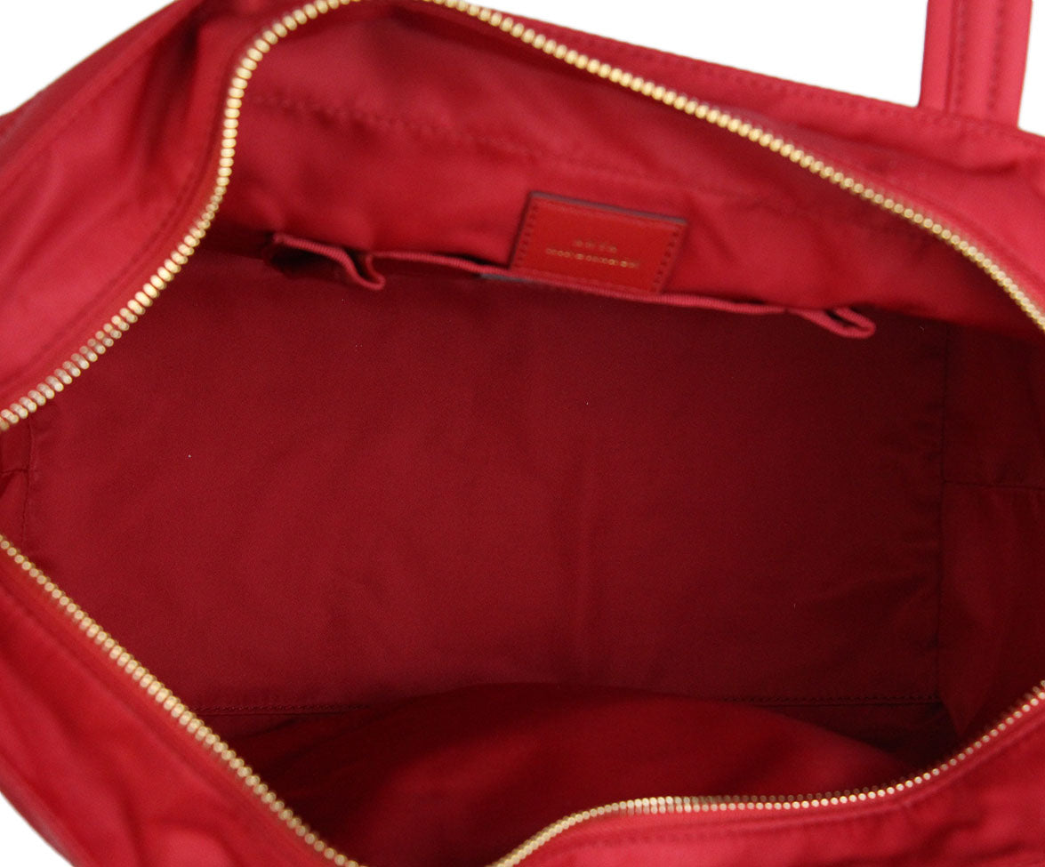 Anya Hindmarch Red Nylon Tote 6