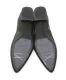 Aquatalia Black Leather Flats 5
