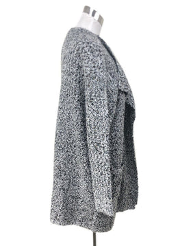 Sweater Ct Badgley Mischka Size 8 Black White Polyester Acrylic Sweater