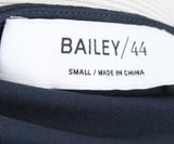 Bailey 44 Navy Beaded Polyester Blouse 4