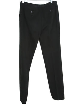 Balenciaga Black Brushed Cotton Pants 2