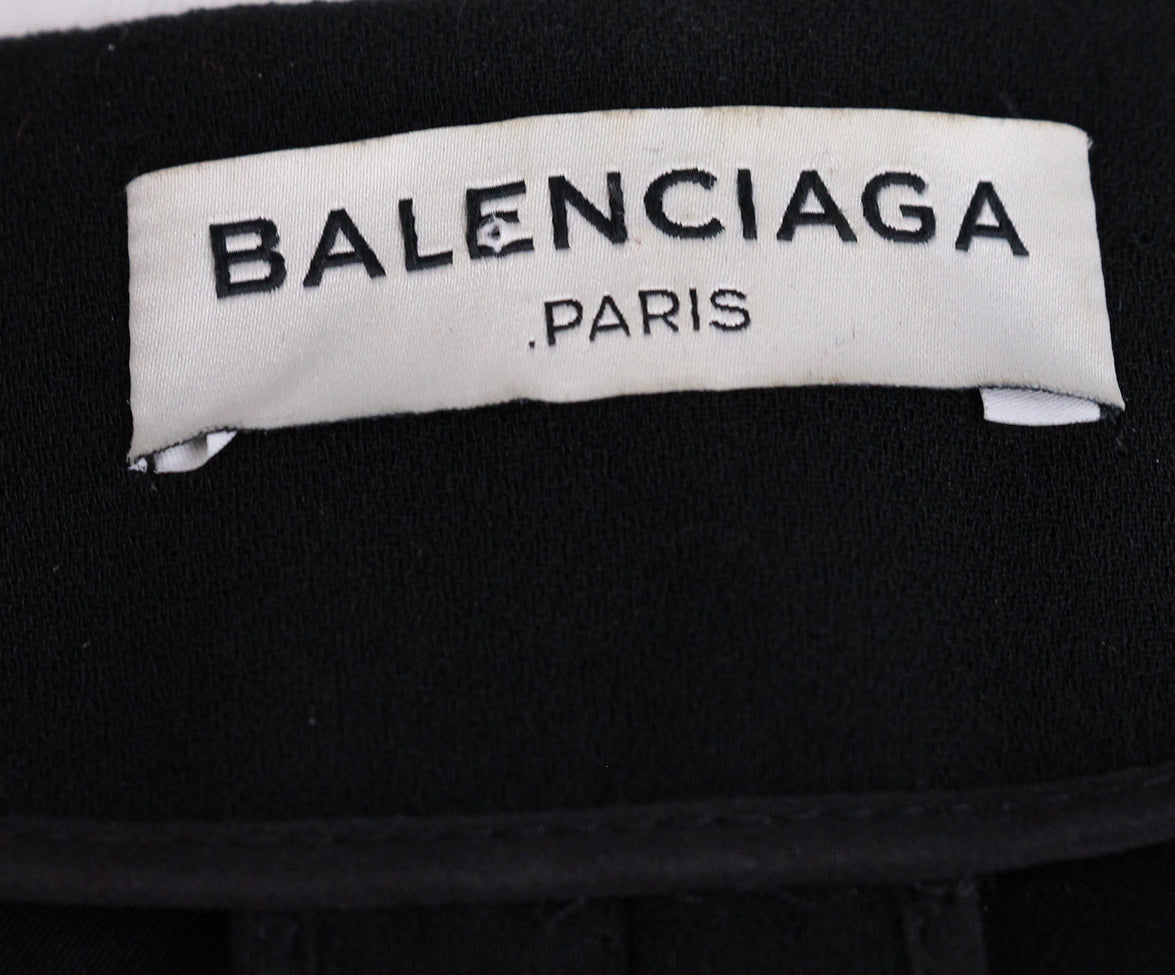 Balenciaga Black Dress 4