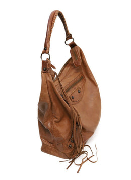 Balenciaga Brown Leather Handbag 1