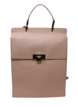 Balenciaga Le Dix Pink Leather Backpack